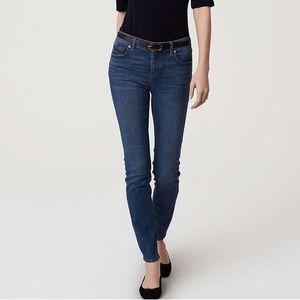 Loft Modern Skinny Ankle Jeans High Waist